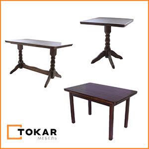 Деревянные столы для кафе, баров, ресторанов