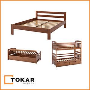 Деревянные кровати для дома