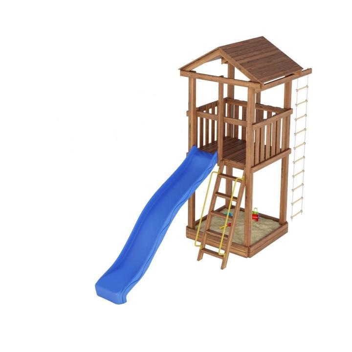 Деревянная детская площадка №1