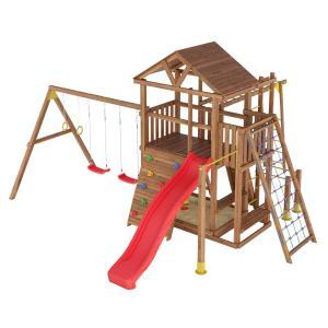 Деревянная детская площадка №10