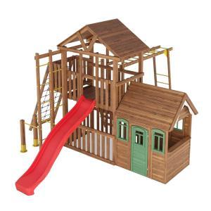 Деревянная детская площадка №11