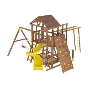 Деревянная детская площадка №12