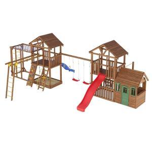 Деревянная детская площадка №13