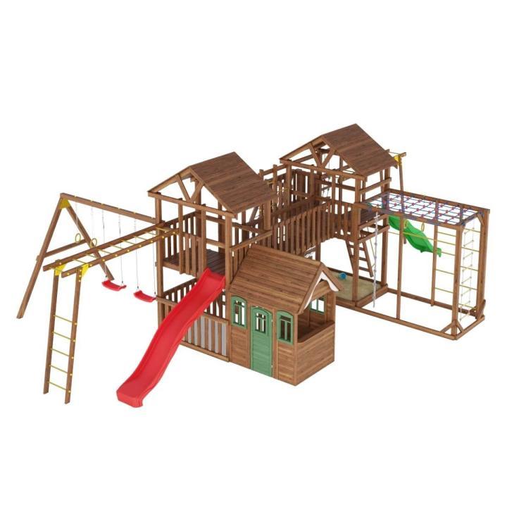 Деревянная детская площадка №15