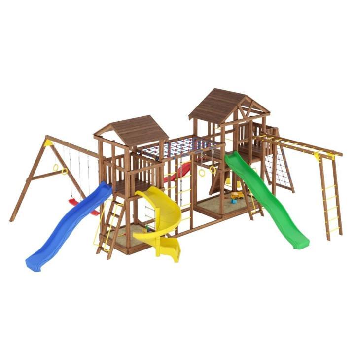 Деревянная детская площадка №16