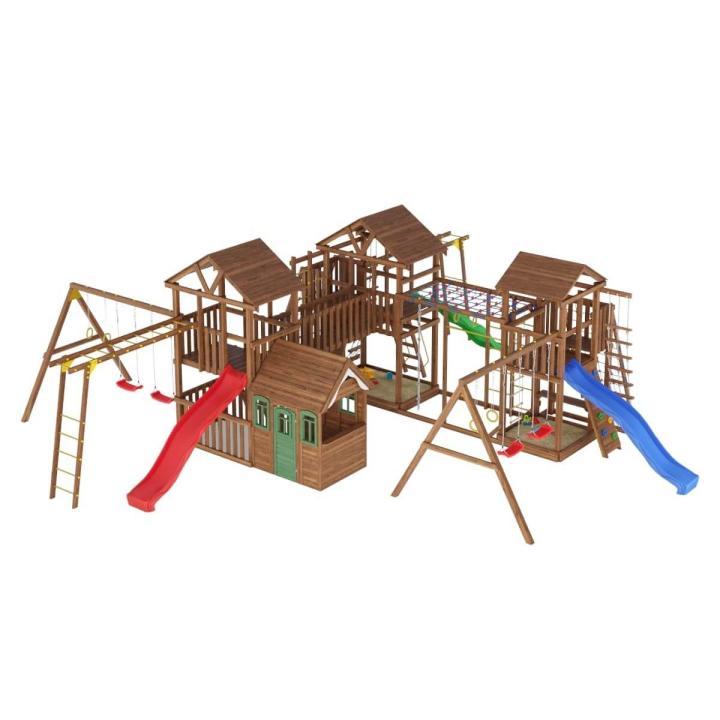Деревянная детская площадка №17