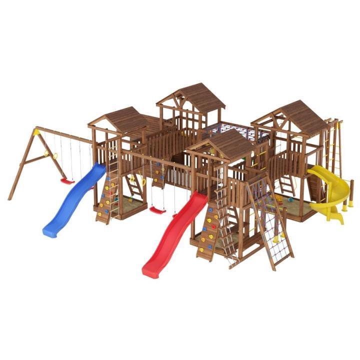 Деревянная детская площадка №18