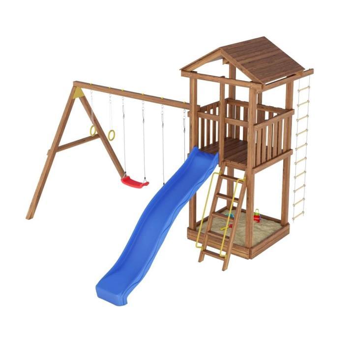 Деревянная детская площадка №3