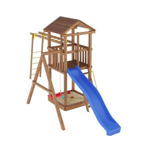 Деревянная детская площадка №4