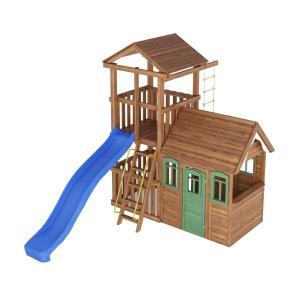 Деревянная детская площадка №6