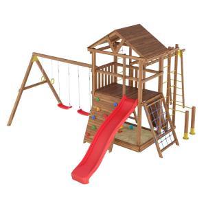 Деревянная детская площадка №7
