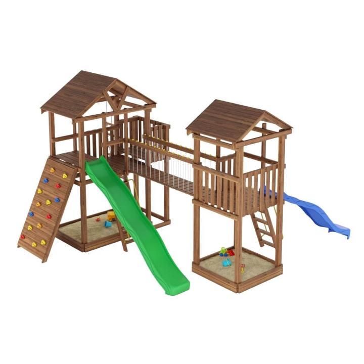 Деревянная детская площадка №8