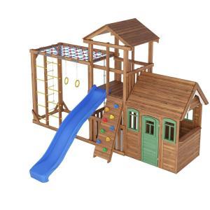 Деревянная детская площадка №9