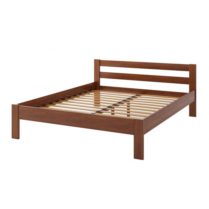 """Деревянная кровать TokarMebel """"Альпина"""" Двуспальная"""