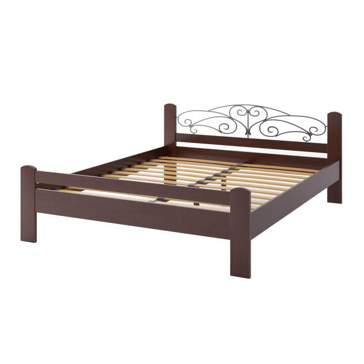 """Деревянная кровать TokarMebel """"Амелия"""" Двуспальная"""