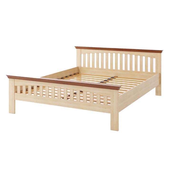 """Деревянная кровать TokarMebel """"Лаванда"""" Двуспальная"""