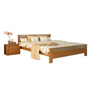 """Деревянная кровать TokarMebel """"Афина"""" ( KR-E002 )"""