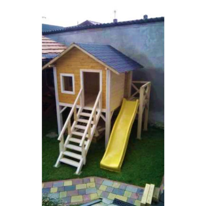 """Деревянный детский домик TokarMebel """"Второй Этаж"""""""