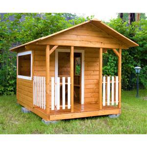 Деревянный детский домик TokarMebel «Феникс»