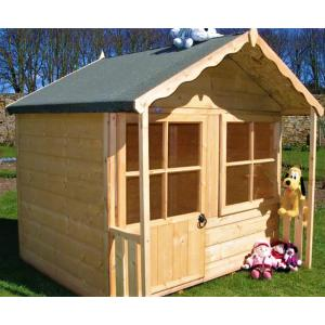 Деревянный детский домик TokarMebel «Пилипок»