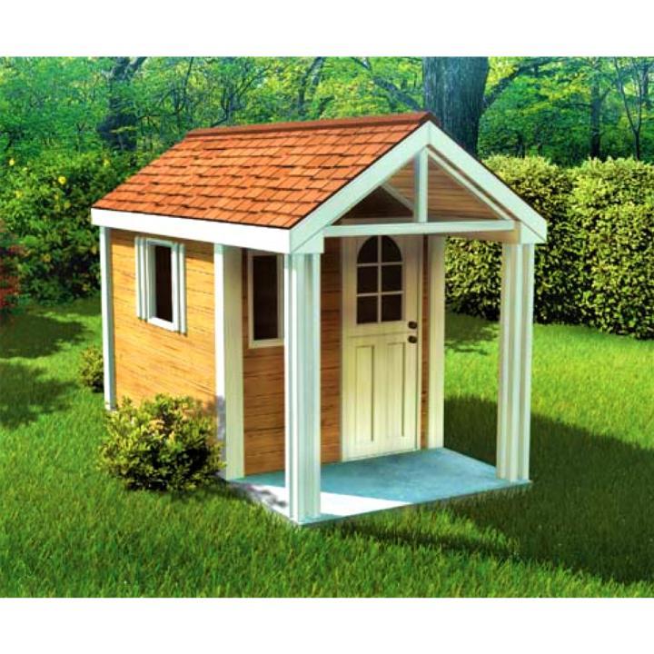 Деревянный детский домик TokarMebel «Сюзарет»