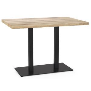 """Металлический стол TokarMebel """"Двойной"""""""