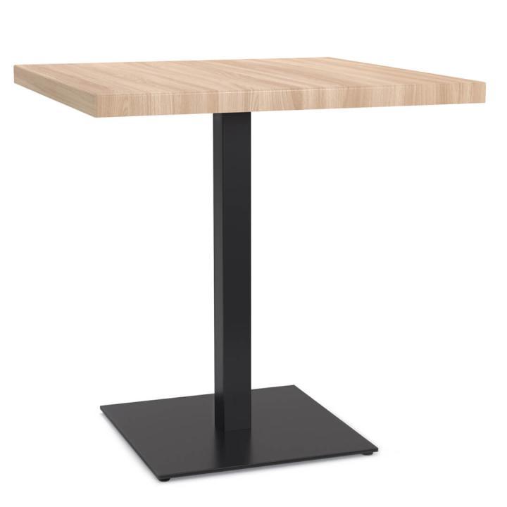 """Металлический стол TokarMebel """"Одиночный квадрат"""""""